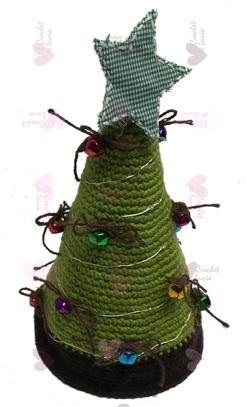 Árbol Navidad - Verde Luces